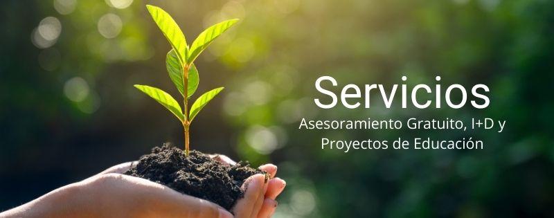 Servicio Insectalia alimento vivo, educación, i+d y asesoramiento